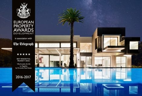 "Villa ""Arcadio"" in La Zagaleta wins the ""European Property Awards Development"""