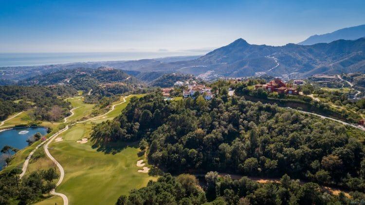 Golf La Zagaleta Marbella Drumelia