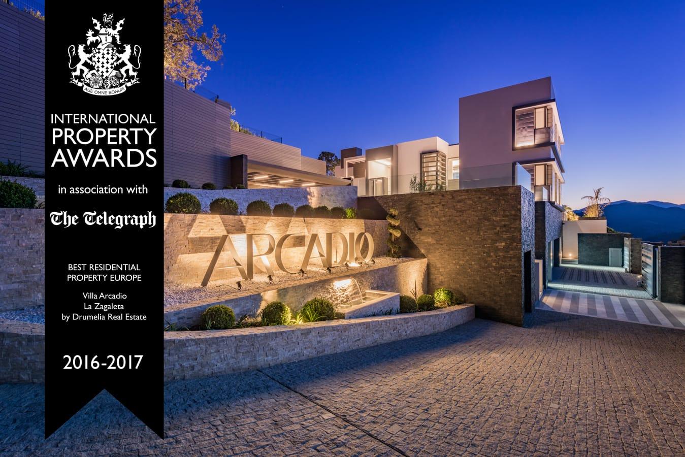 Villa Arcadio in La Zagaeta Best Property Europe