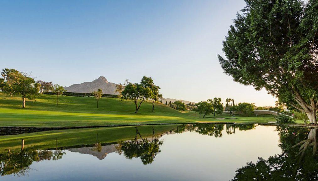 Aloha Golf Course in Marbella