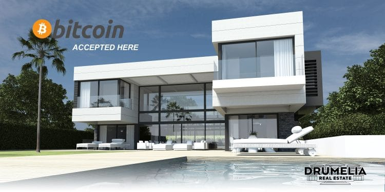 Drumelia Real Estate is the 1st real estate company in Marbella selling properties with Bitcoin.