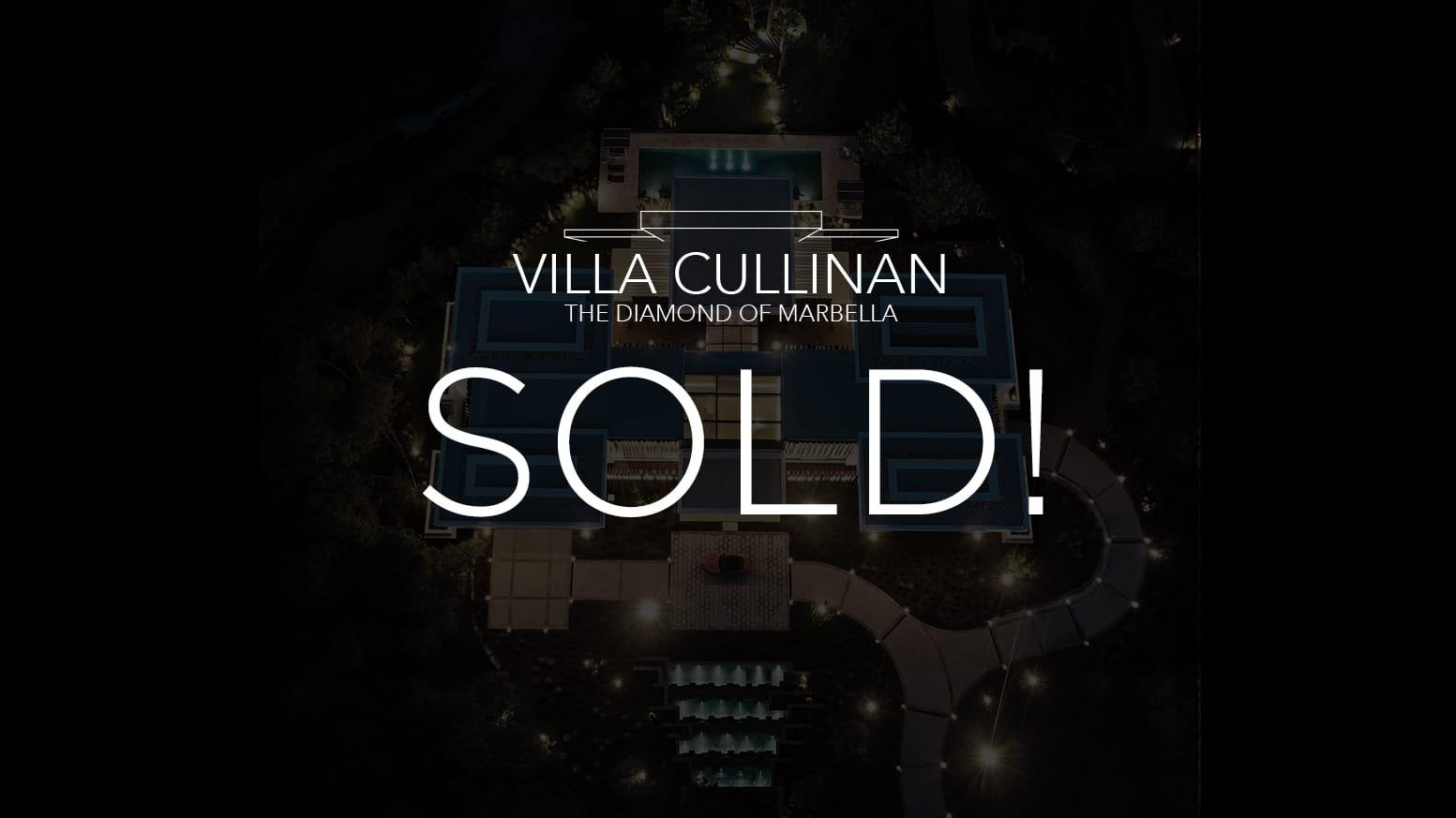 CULLINAN SOLD