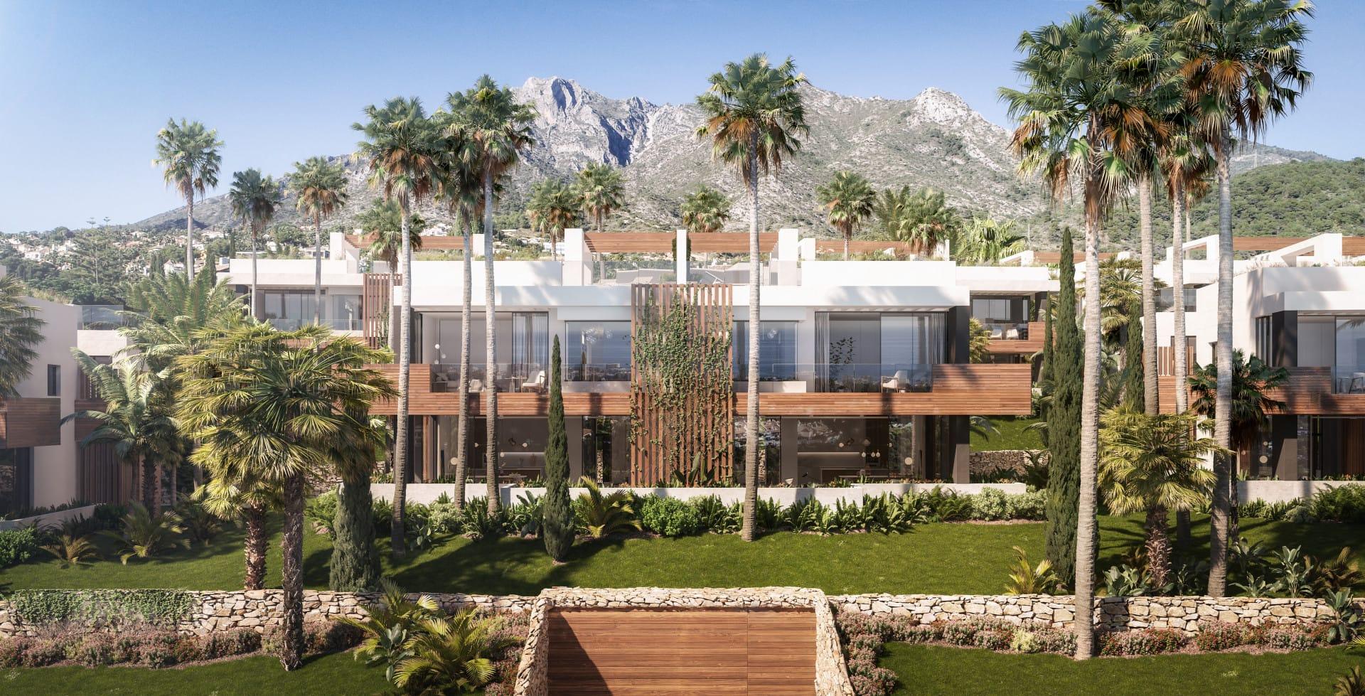 Designer Townhouses in Sierra Blanca, Marbella Golden Mile