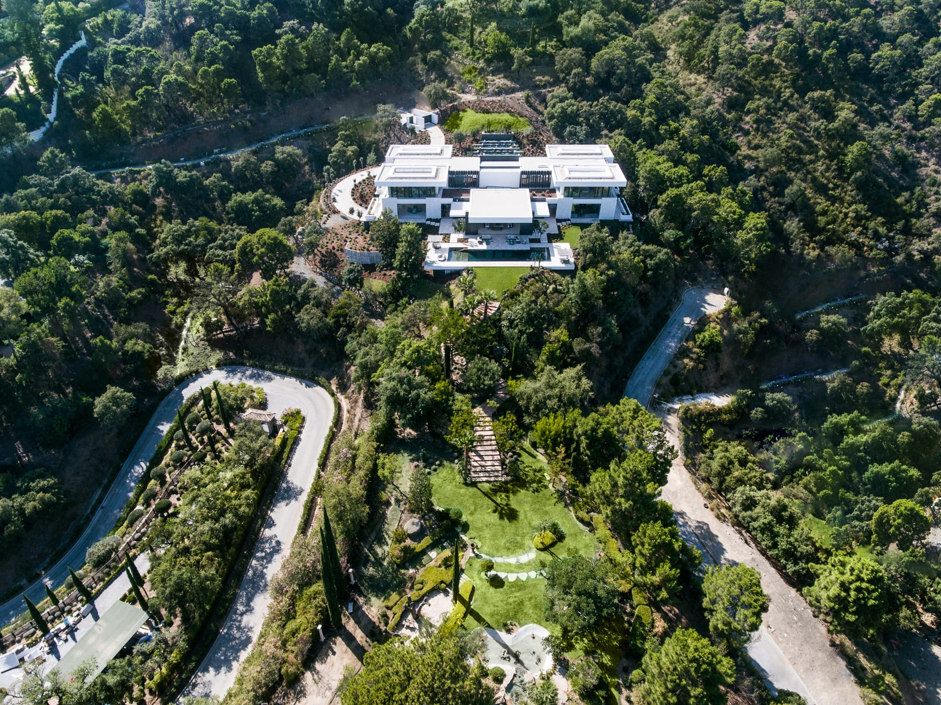 Villa Cullinan stands on a double plot