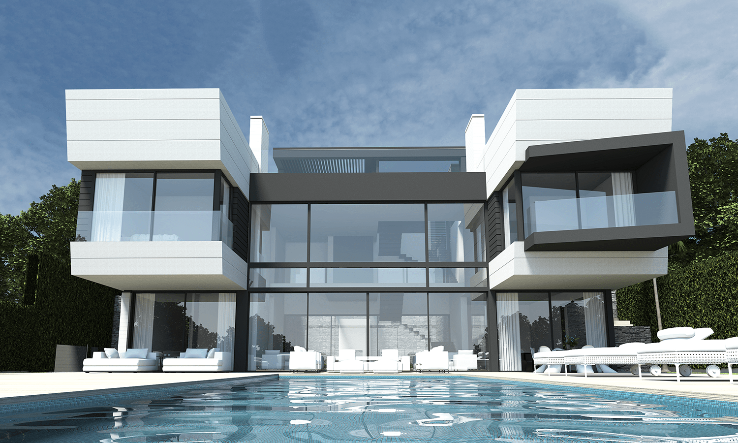 Exclusivity of a property starts from its location. Relatively new dynamic upmarket area of La Alquería with its extraordinary beauty of South Andalusian nature and stunning panoramic views is a 'meeting point'. Benahavís, Marbella and Estepona municipalities meet right there.