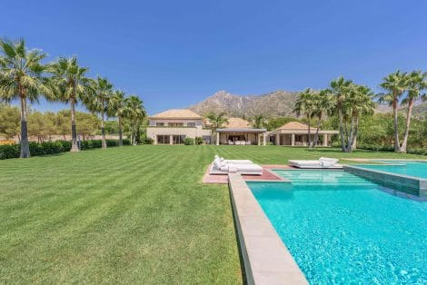 Magnificent villa in La Quinta de Sierra Blanca, Marbella Golden Mile