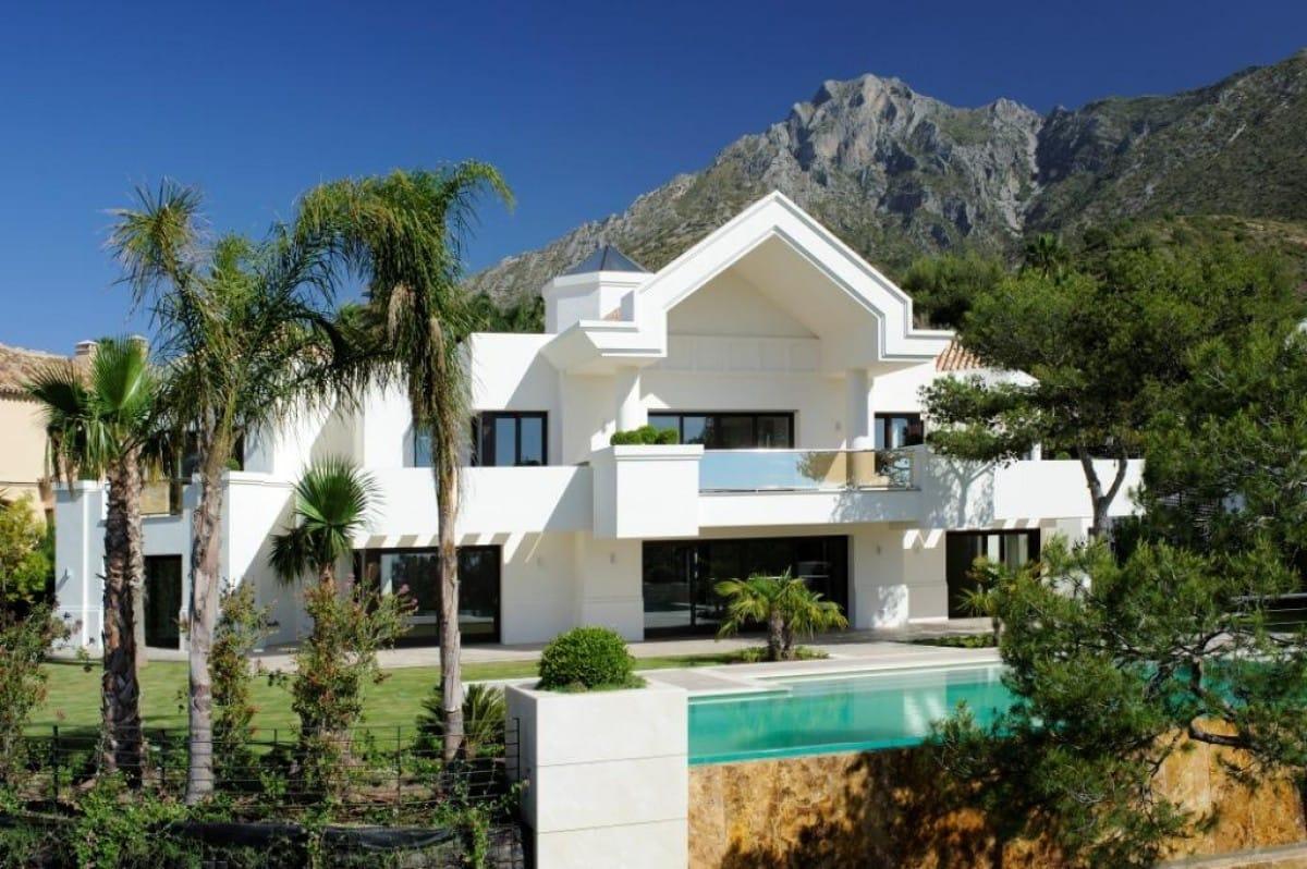 Maravillosa y moderna villa de ensueño, Sierra Blanca, Marbella