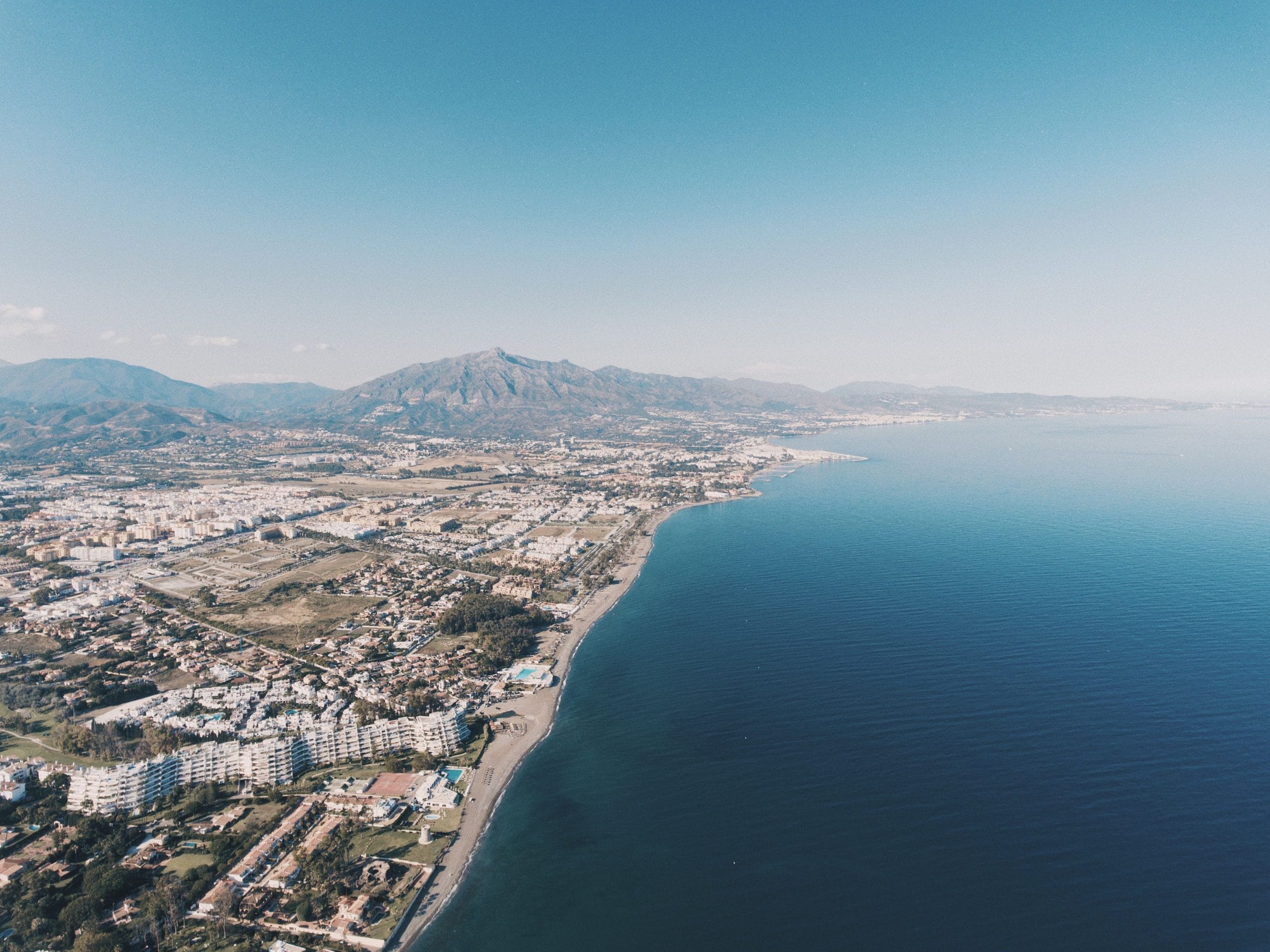 Climate and beaches in Marbella