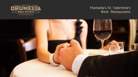 Marbella Gastronomic Paradise. Best Marbella restaurants for Valentine's Day