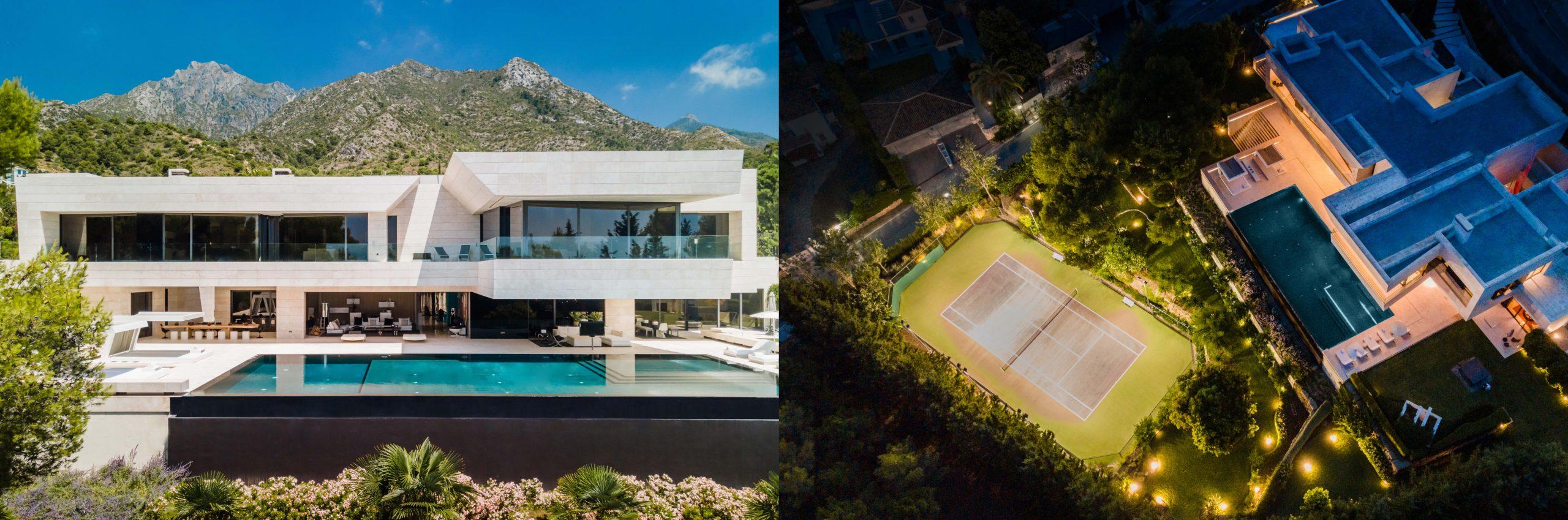 Villa El Nido i Cascada de Camojan, Marbella Golden Mile