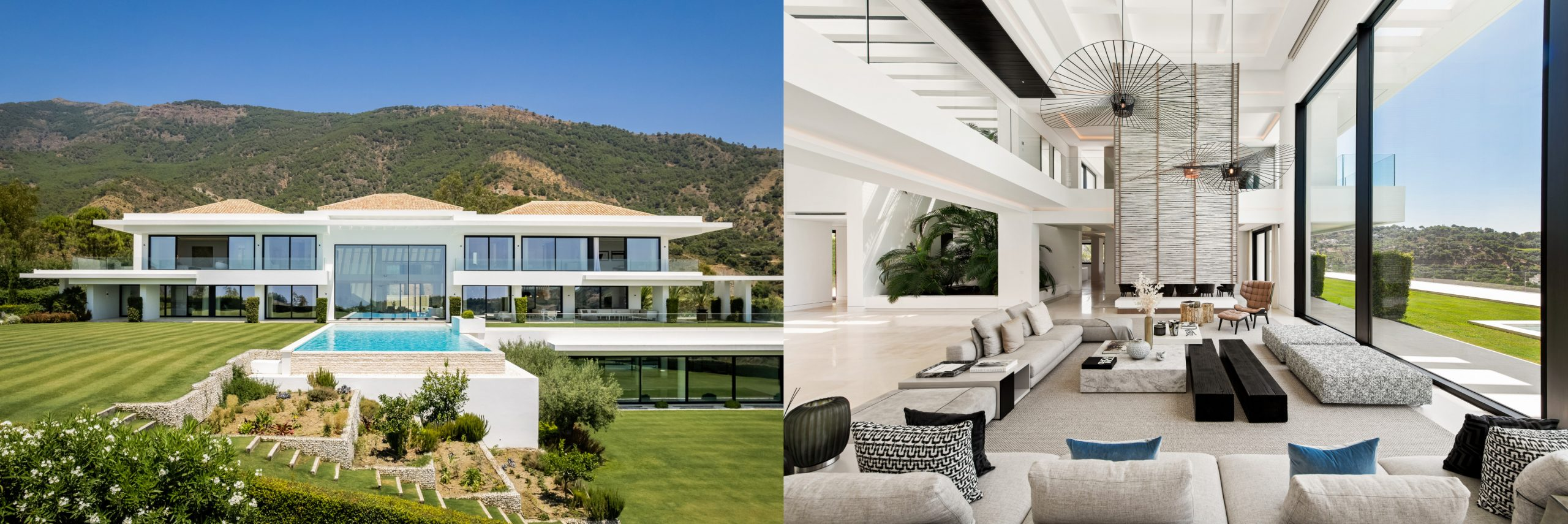 Villa Ibiza Breeze in La Zagaleta, Marbella
