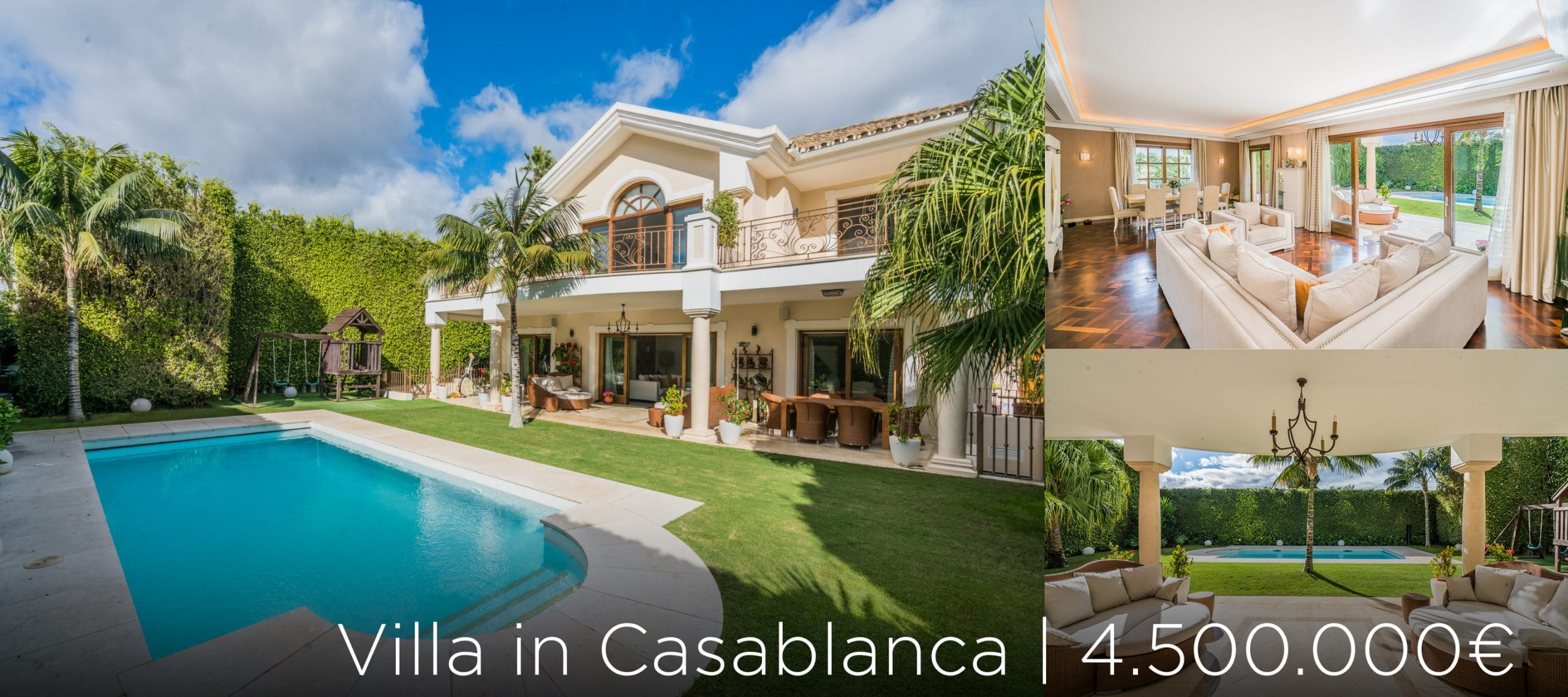 Villa in Casablanca zu verkaufen Marbella Goldene Meile